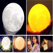 3D Color Change USB Touch Switch LED Moon Night Light