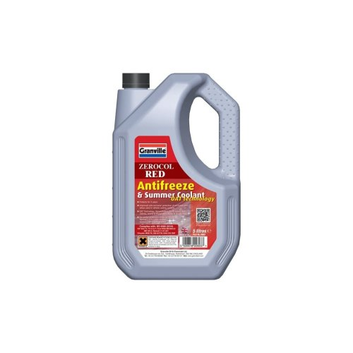 Zerocol Antifreeze & Summer Coolant - Concentrated - 5 Litre
