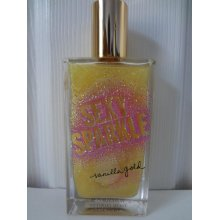 Victoria's Secret Sexy Sparkle VANILLA GOLD Shimmer Body Oil 2.5 fl oz