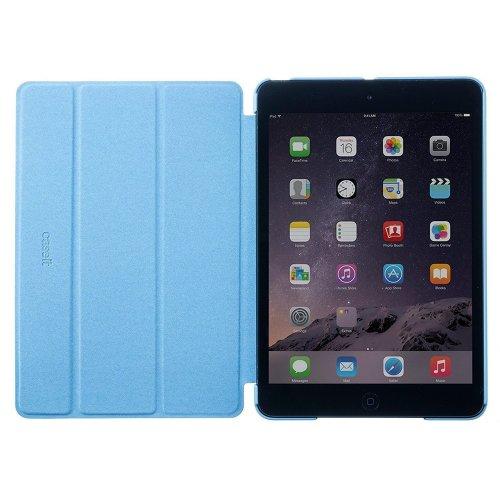 Caseit Blue Slim Folio Smart Cover Case Stand Apple iPad Mini 1 2 3