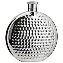 [Rotundity] Creative Hiking/Camping Stainless Steel Hip Flask, 6oz