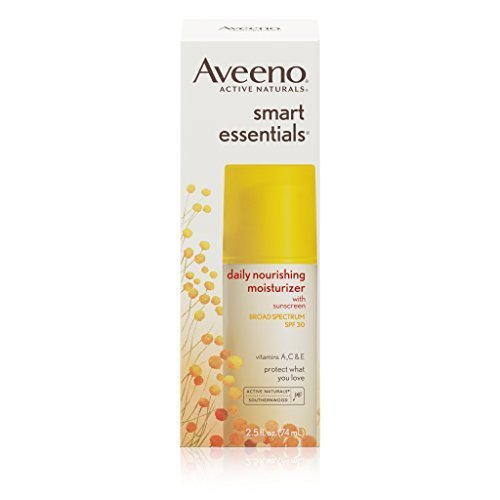 Aveeno Smart Essentials Daily Nourishing Moisturizer Oil Free With Broad Spectrum Spf 30, 2.5 oz.