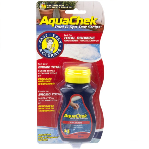 AquaChek 4 in 1 Test Strips - Swimming Pool and Spa Test Strips - Red