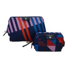 RADLEY 'Triagonal' Nylon Toiletry Bag & Cosmetic Case