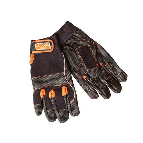 Bahco GL010-10 Power Tool Padded Palm Glove Size 10