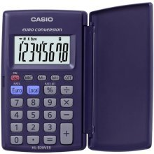 Casio HL 820 VER Pocket Calculator with Euro Conversion