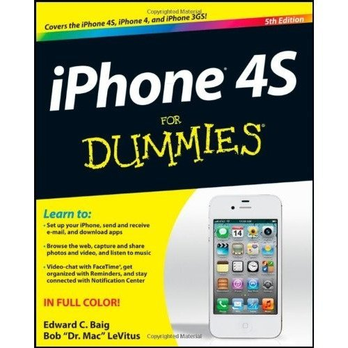 Iphone 4s for Dummies (for Dummies (lifestyles Paperback))