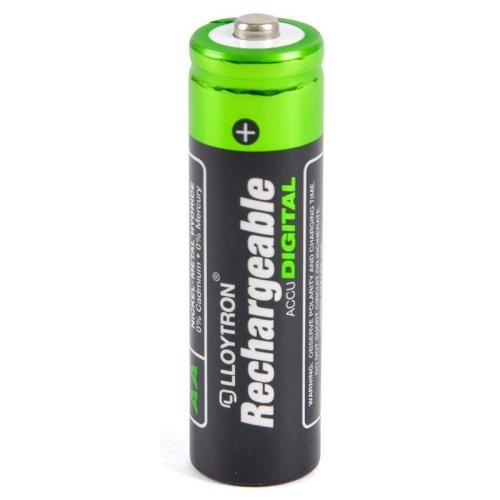 Lloytron Rechargeable Battery 1300 mAh Size AA Pack of 4 1000 charges (B012)