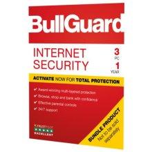 Bullguard Internet Security 2019 Soft Box, 3 User (Single), Windows Only, 1 Year
