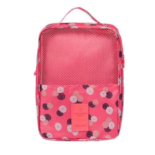 Portable Shoe Bag Shoes Organizer Holder Storage Bag Travel Outdoors, B