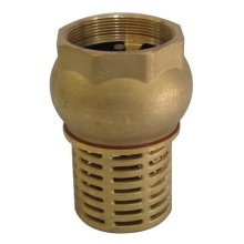 "1"" 1 1/4"" Bsp Female Check Foot Valve Suction Brass Non Return Valve for Pump"