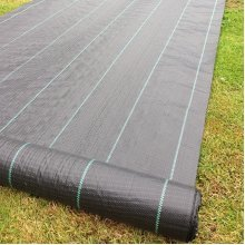 Yuzet 5m wide 100gsm weed control fabric ground cover membrane