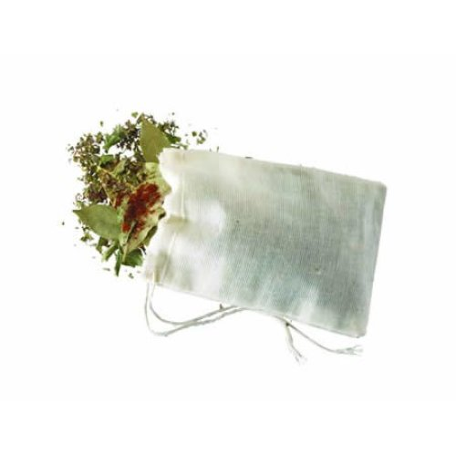 Pack Of 4 Home Made Spice Bags - Kitchen Craft Cotton Herb -  bags spice 4 pack kitchen craft home made cotton herb