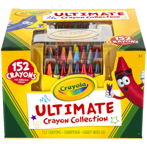 152pk Crayola Ultimate Crayon Collection | Large Crayon Set