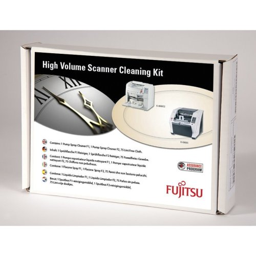 Fujitsu SC-CLE-HV Scanners Equipment cleansing dry cloths & liquid equipment cleansing kit
