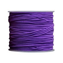 Elastic Cord Beading Crafting Stretch String - Purple