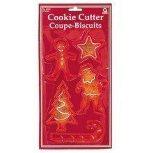 Christmas Cookie Cutters - 10.2cm - Tableware 34930
