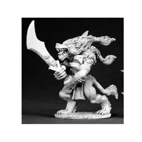 Reaper Miniatures Dark Heaven Legends 02592 Gnarr Gnoll Champion