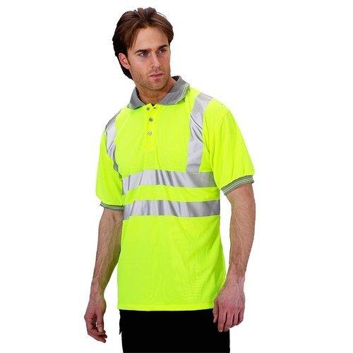 Click BPKSENSYXXL Hi Vis Yellow Polo Shirt XXL