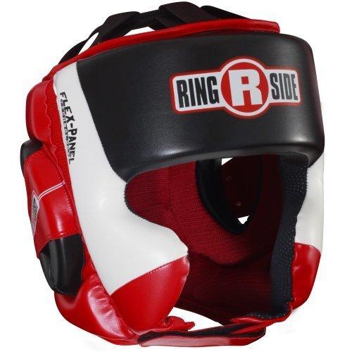 Ringside Ultra Light Sparring Headgear Red Black Large