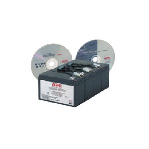 APC Replacement Battery Cartridge #8 Sealed Lead Acid (VRLA)...