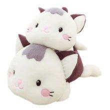 Set of 2 Cartoon Cat Car Odor Charcoal Bag Air Freshener/Purifying Bag Purple
