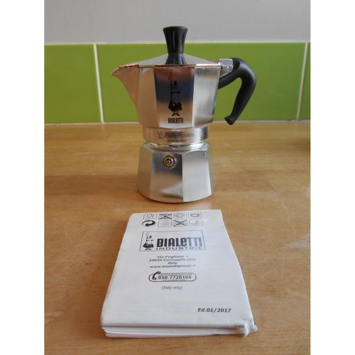 Bialetti Moka Express Espresso Maker, 2 Cup