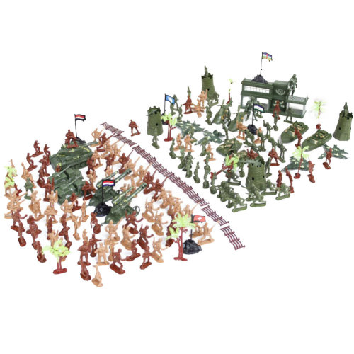 Toy Gifts Toy Soldiers/Cars/Trucks /Tractors/Toy Guns Models -188 PCS