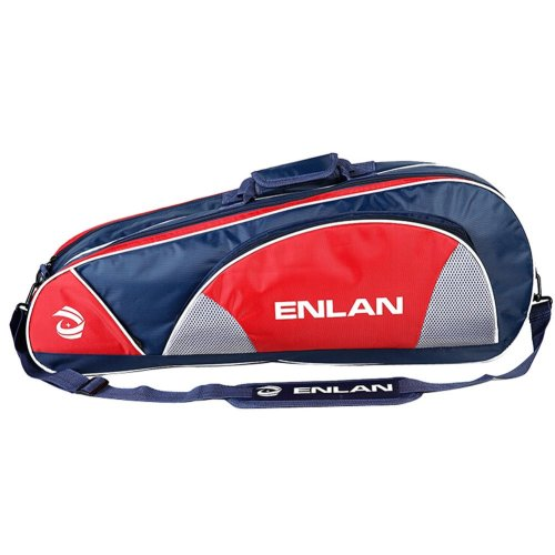 Simple Portable Badminton Equipment Bag Badminton Racket Bag RED