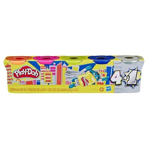 Play-Doh Super Silver or Gold 5-Pack Assortment