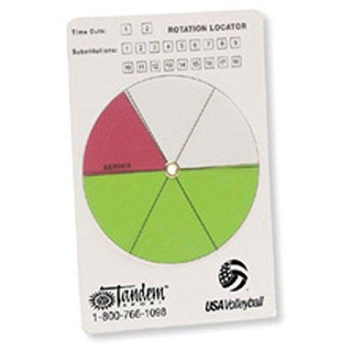Tandem Sport Volleyball Rotation Locator