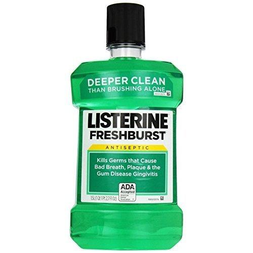 Listerine Antiseptic Mouthwash, Freshburst 1.5 Liter