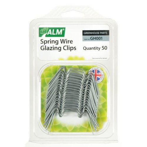 ALM GH001Greenhouse Spring Wire Glazing Clips