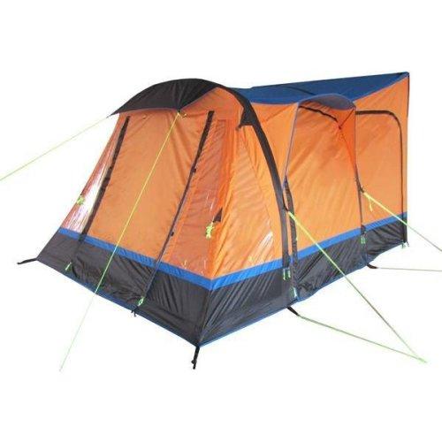 OLPRO Loopo Breeze Camper van Driveaway Awning (Orange/ Black)