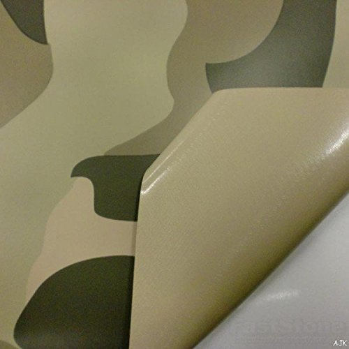 Desert Camouflage Vinyl Car Wrap Various Pattern Various Sizes (50cm x 1.52m)