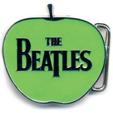 The Beatles Gürtelschnalle Apple -