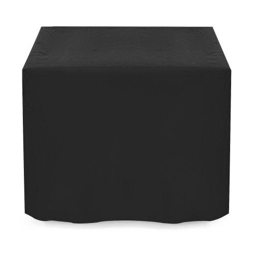 Dokon Rattan Cube Set Cover, 420D Oxford Fabric Garden Furniture Cover, Cube, 4 Seat(125 x 125 x 74cm) - Black