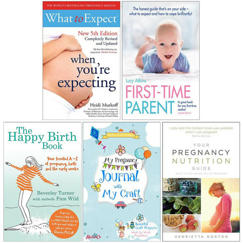 The Happy Birth Book,Your Pregnancy Nutrition Guide 5 Books Set