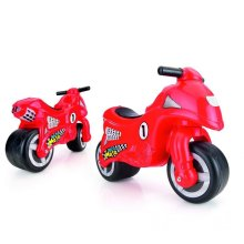 Dolu Toddler Kids My First Moto Ride On Motorcycle Sit On Outdoor Push Along Red