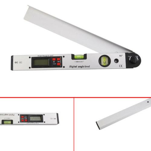 0~225¡ãLCD Digital Protractor Inclinometer Angle Meter Spirit Level Finder Gaug
