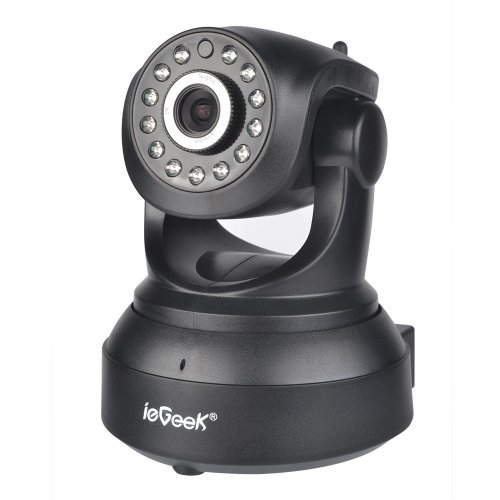 ieGeek Plug & Play WiFi Home IP Camera Pan Tilt Zoom 720P HD Night Vision
