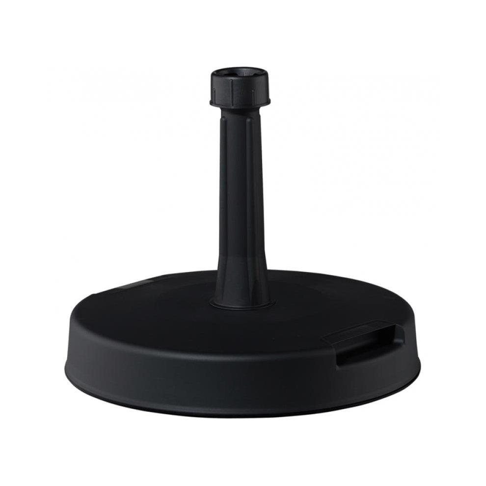 Umbrella Stand Black: Black Garden Umbrella Stand