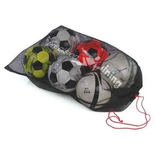 10 Ball Football Mesh Sack - Precision Training Nylon Sports Soccer Rugby -  precision training 10 ball sack mesh nylon sports football soccer rugby