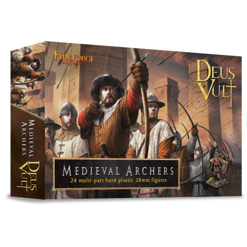 Medieval Archers - 28mm multipart figures - FireForge FFG011 - Free post P3