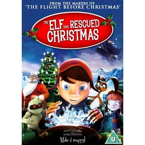 The Elf That Rescued Christmas DVD