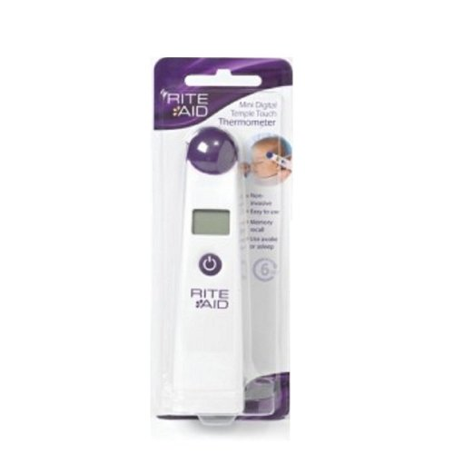 Rite Aid Mini Digital Temple Touch Thermometer