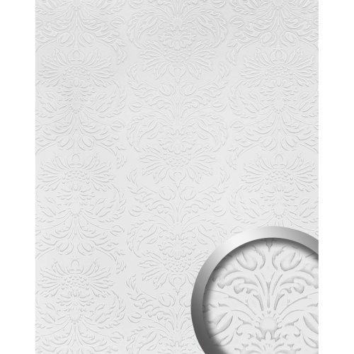 WallFace 19771 Antigrav IMPERIAL White Wall panel leather look matt white 2,6 m2