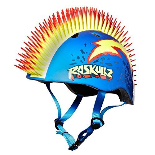 Razkullz Bolt Hawk Kids Scooter Skateboard Bike Helmet EPS 50 to 54cm
