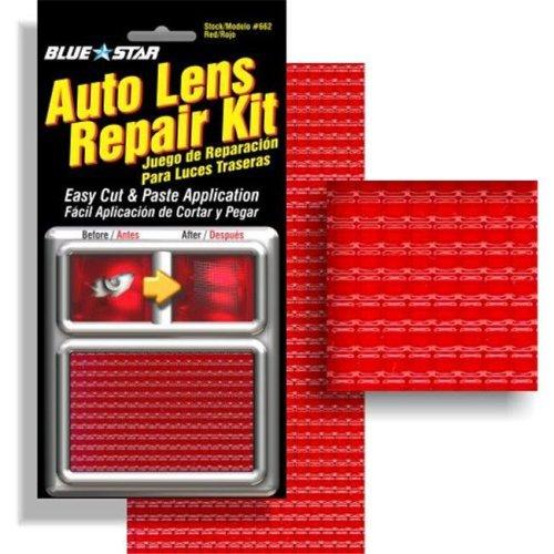 Blue Star 662 Auto Lens Repair Kit, Red Textured