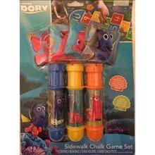 Disney Pixar Finding Dory-Sidewalk Chalk Game Set